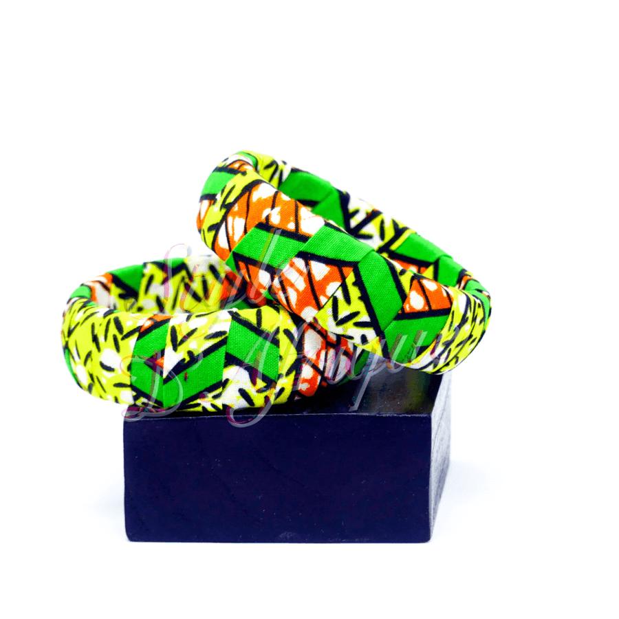 bracellet wax ankara africain