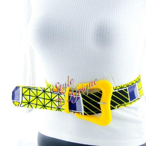 ceinture de hanche africaine obi wax pour femme pour l'été