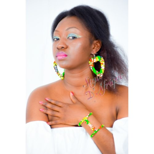 parure collier bracelet boucles d'oreilles créoles wax bijoux africains traditionnels bijoux africains côte d'ivoire bijoux africains wax bijoux sénégalais bijoux africains paris