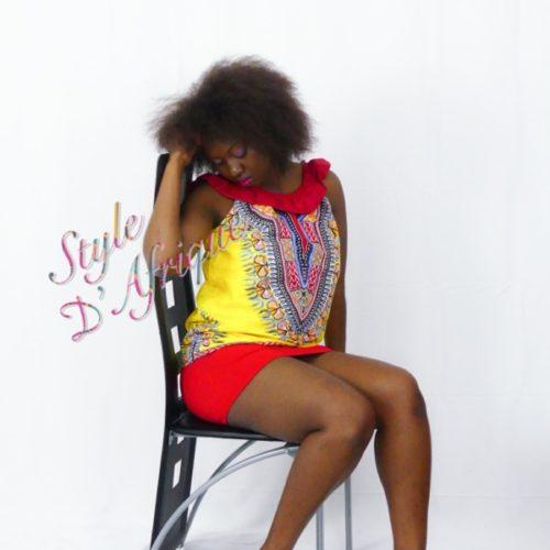 haut vêtement femme wax africain tissu dashiki haut wax femme moderne crop top wax haut africain femme haut wax moderne vêtements wax femme tunique wax femme blouse wax femme chemise wax femme
