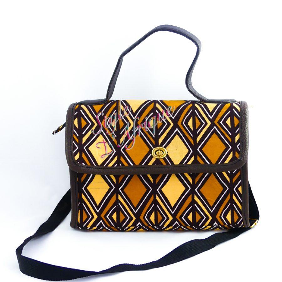 sacs à main en BOGOLAN africain ethnique motifs tribal