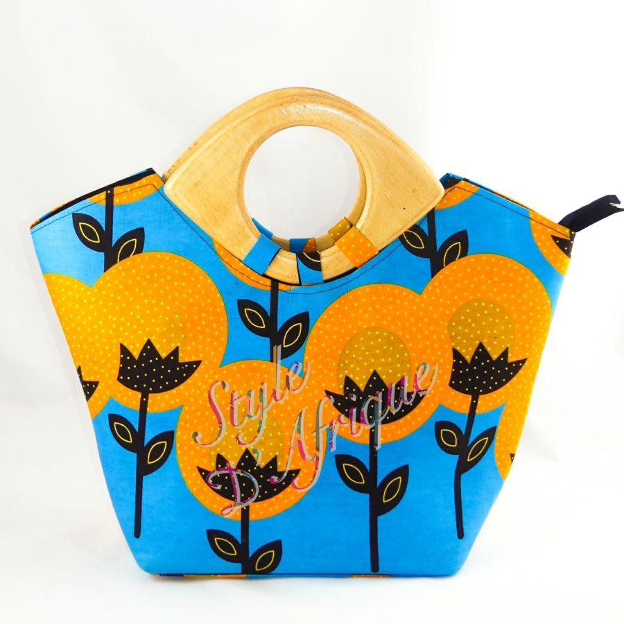 grand sac à main africain ethnique motifs tribal