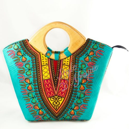 sacs à main en DASHIKI africain ethnique motifs tribal