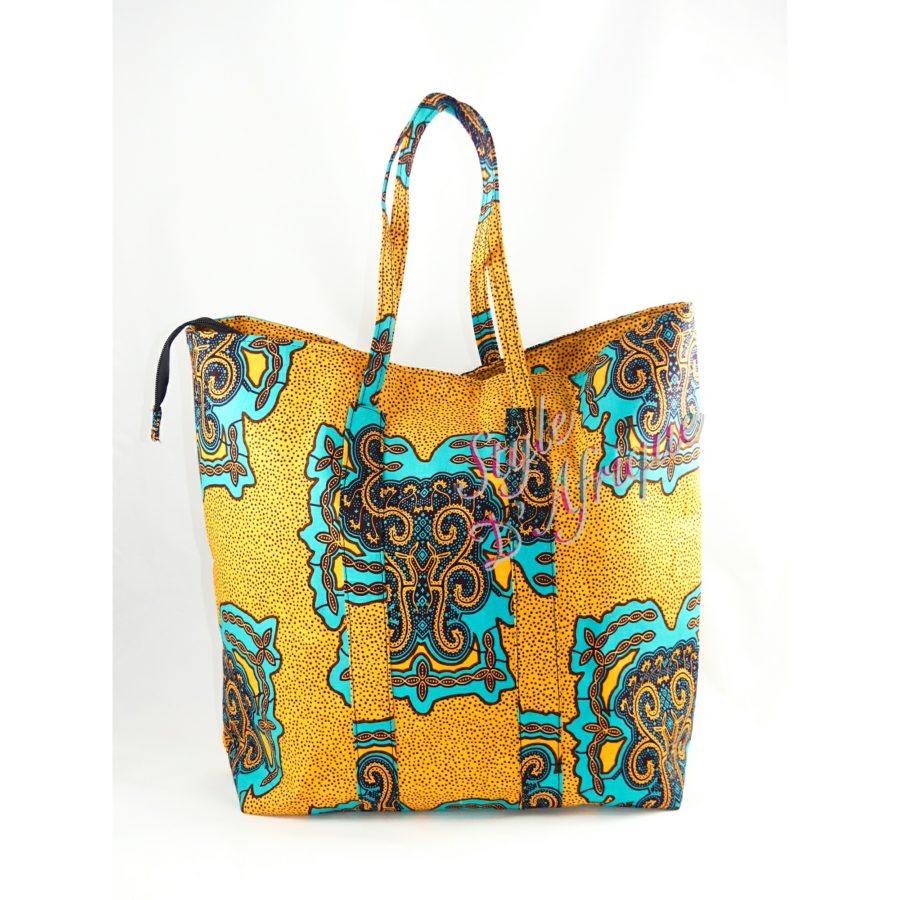 sac à main wax africain ethnique