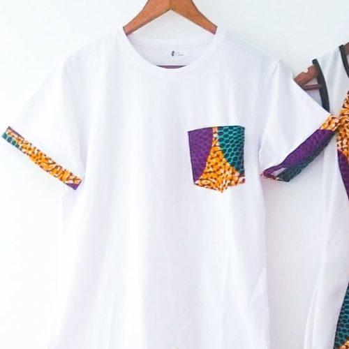 Tee-shirt wax haut vêtement femme wax africain tissu ankara. haut wax femme moderne crop top wax haut africain femme haut wax moderne vêtements wax femme tunique wax femme blouse wax femme chemise wax femme