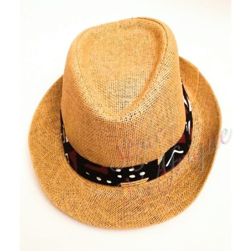 capeline chapeau paille wax africain ethnique homme