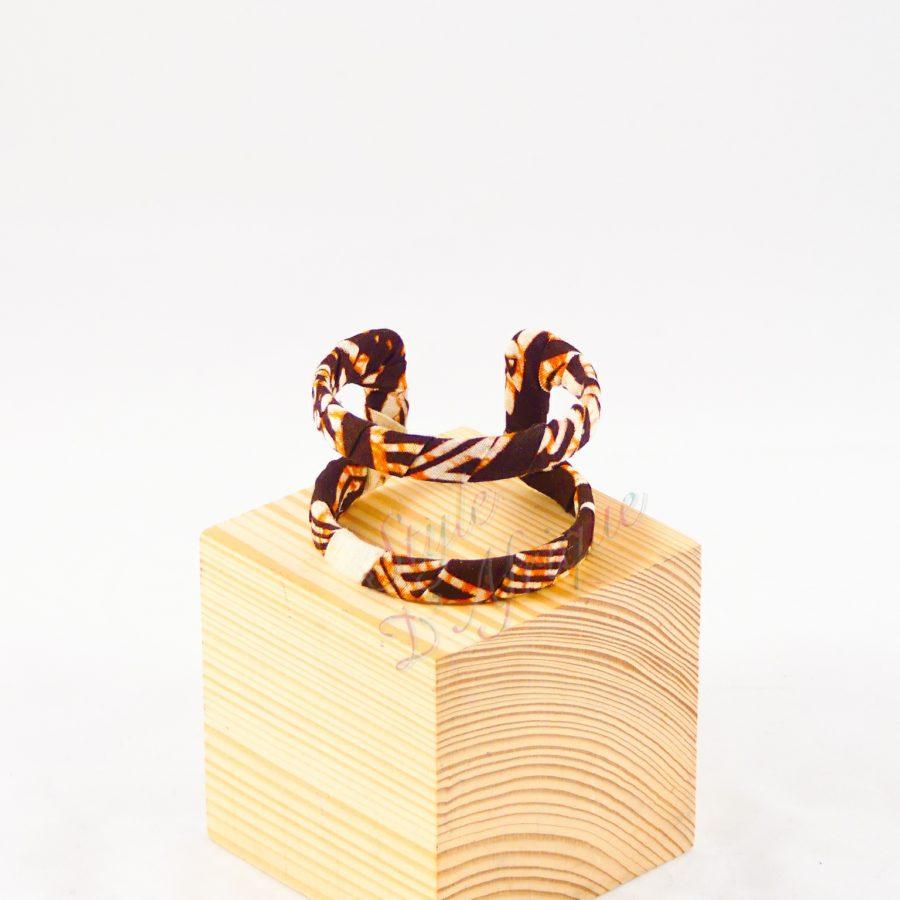 bracelet wax africaine manchette