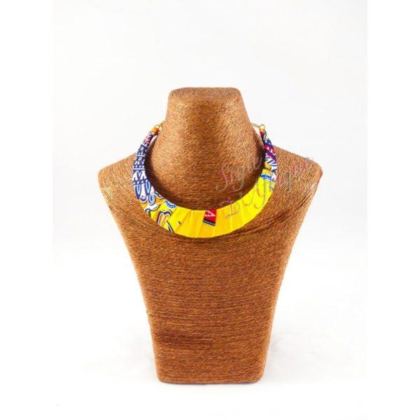 Collier wax africain dashiki