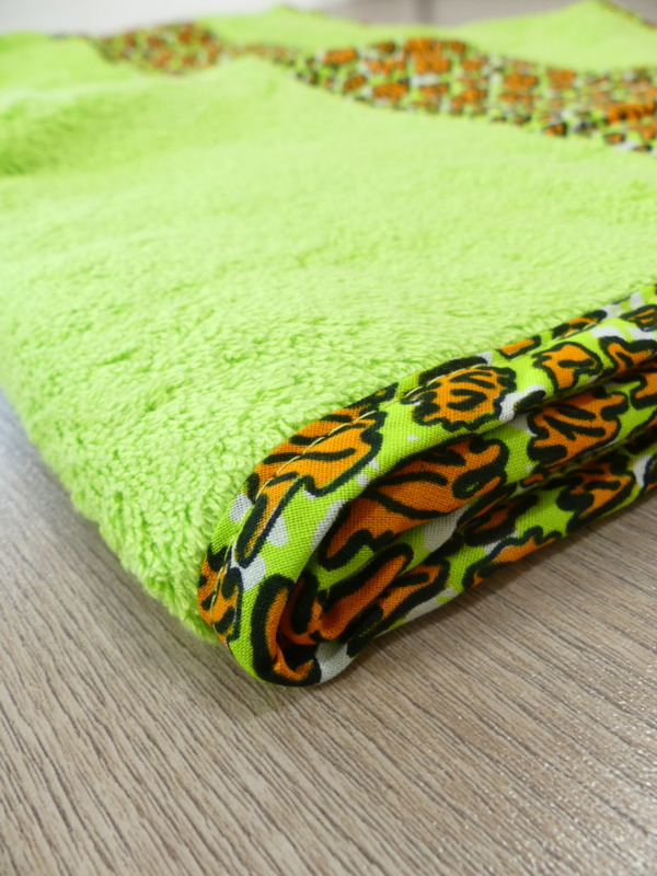 serviette drap de bain wax