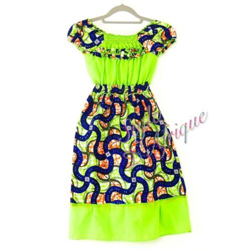 robe été africain enfant artisanat pour fille
