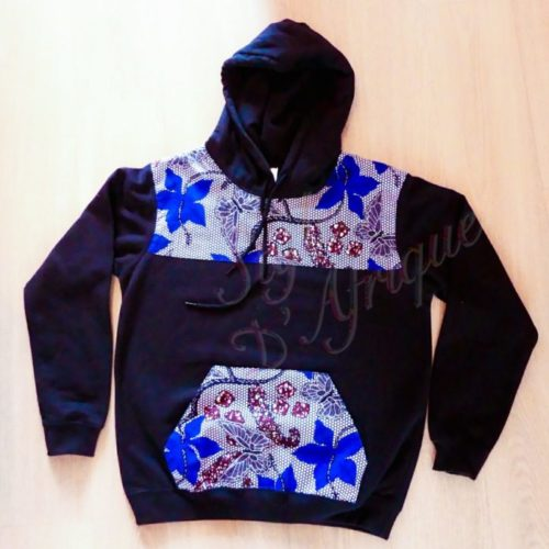 sweat pull africain homme wax pour hiver chaud polaire