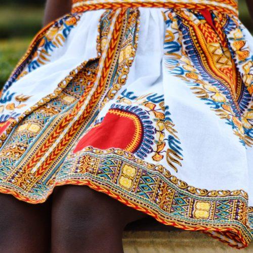 jupe dashiki africain femme