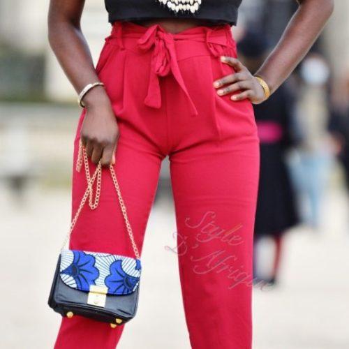 Sac à main pochette été femme tendance wax africain