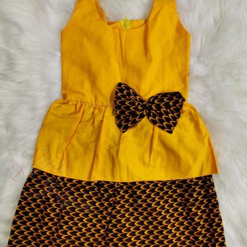 Princesse Robe fillette wax été , robe enfant, robe été, modèle de robe, modèle de robe wax, diy, couture robe wax,