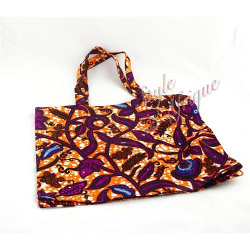 totebag tote-bag Sac pochette wax africain ankara