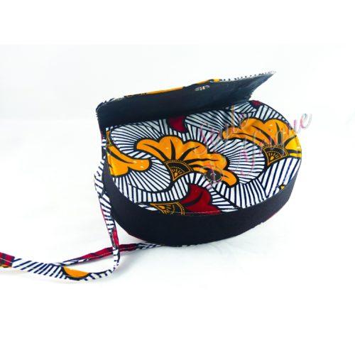 sac à main pochette wax et sandales ankara africain ethnique