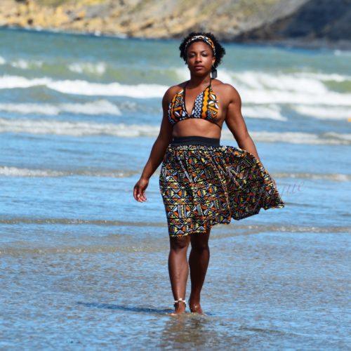 maillot de bain wax ankara bogolan Africain
