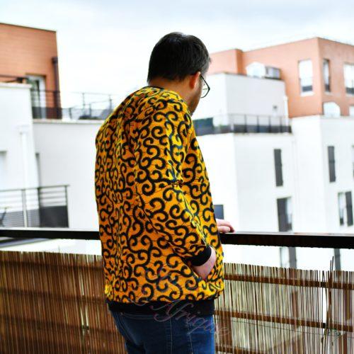 Bomber wax jacket l'extraverti