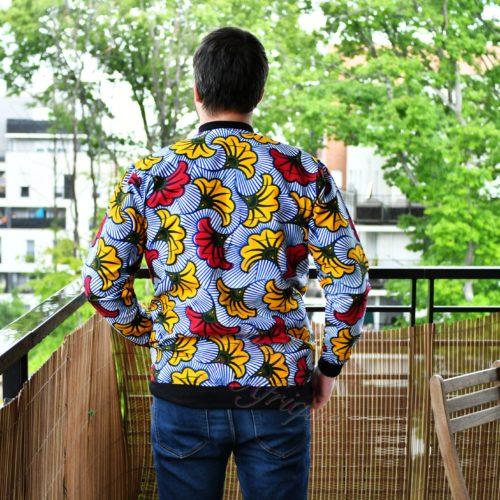 Bomber wax jacket l'intemporel