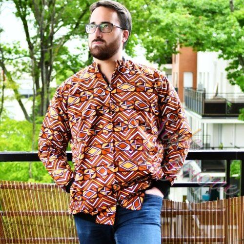 Bomber wax jacket le classic