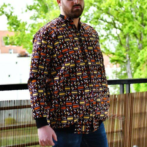 Bomber wax jacket le basic