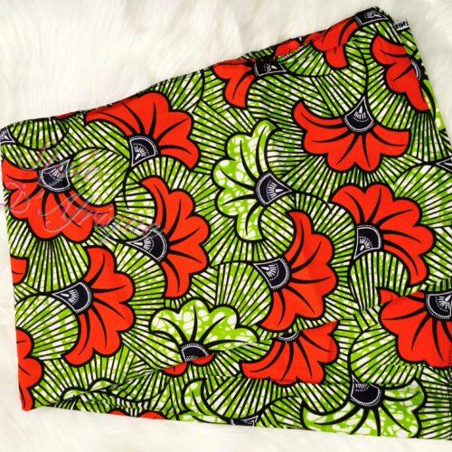 foulard turban wax Flora