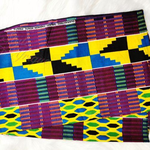foulard turban Kente